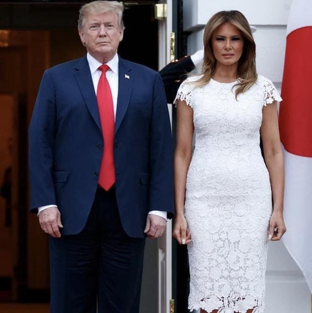 Мелания Трамп отпраздновала день рождения в свадебном платье (фото 4)