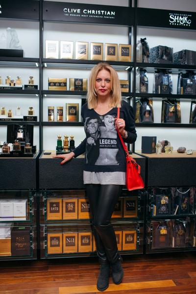 Знаменитости на открытии бутика «MOLECULE Патриаршие» | галерея [1] фото [3]