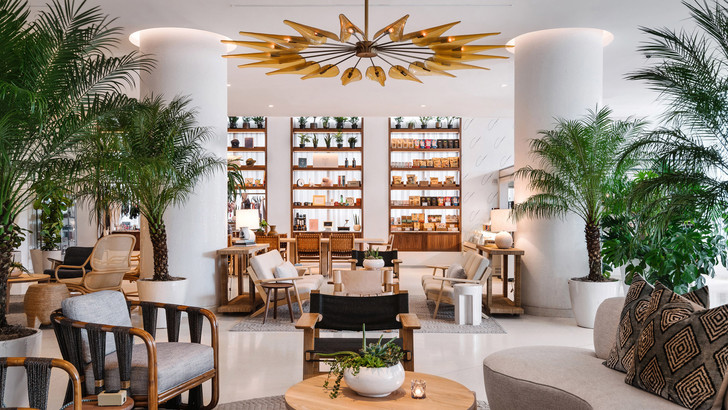 Отель Nautilus с коворкингом и барбершопом в Майами (фото 0)