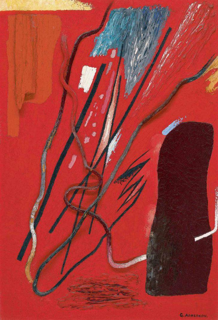 Искусство онлайн: гид по творчеству Юрия Анненкова (фото 12)