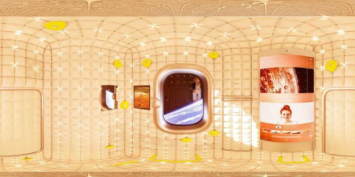 Просто космос: дизайн космической станции от Филиппа Старка (фото 0)