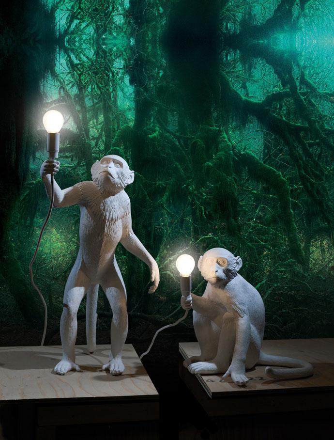 Светильники Monkey Lamp, Seletti