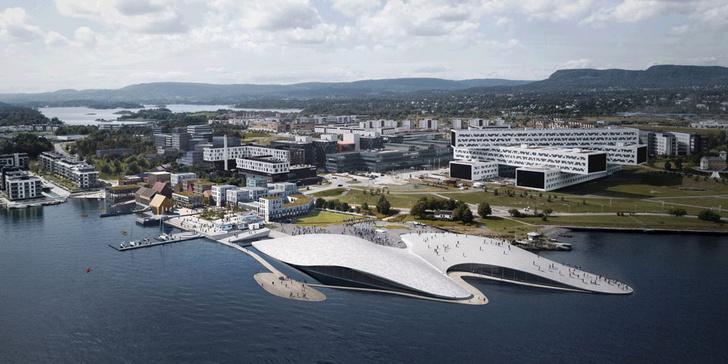 На месте бывшего аэропорта В Осло появится новый городской Аквариум фото [1]