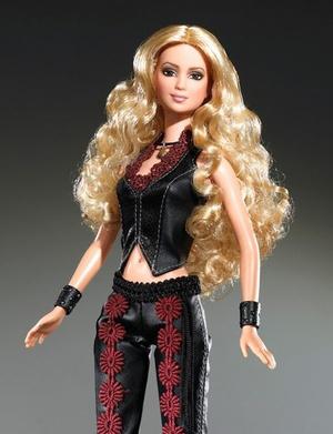 Шакира кукла