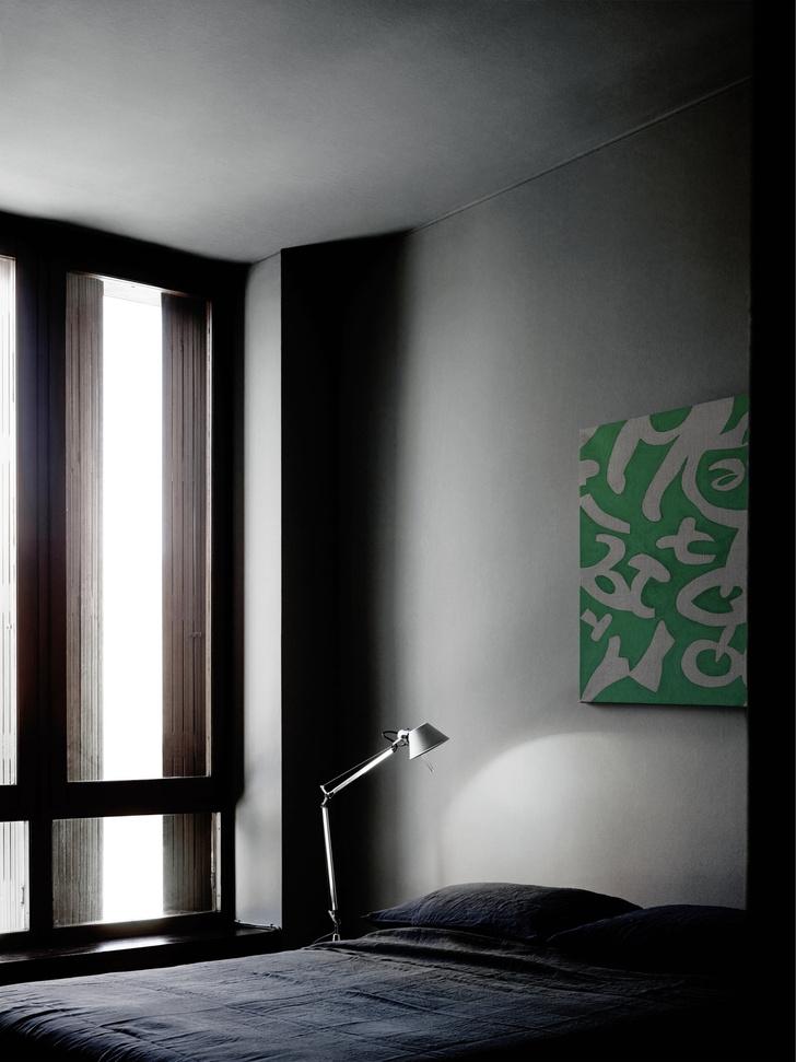 Миланская квартира в зеленых тонах (фото 15)
