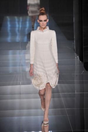 Показ Valentino коллекции сезона Весна-лето 2009 года Haute couture - www.elle.ru - Подиум - фото 86980