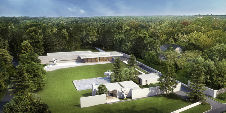 Продается дом архитектора Филипа Джонсона (фото 0)