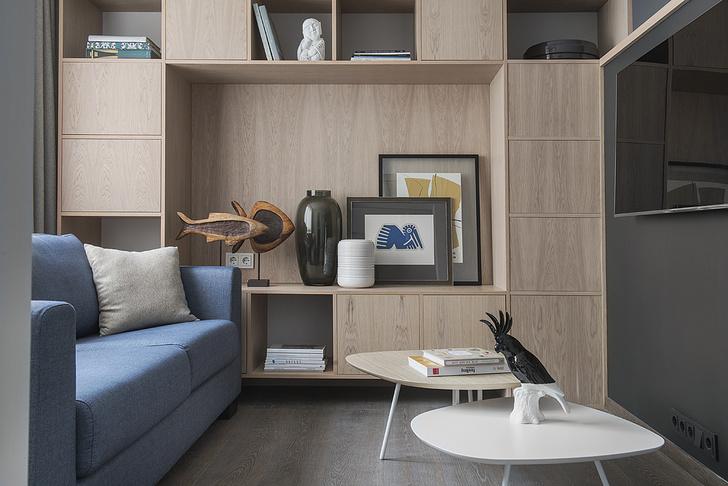Квартира 38 м² для отдыха после работы (фото 15)