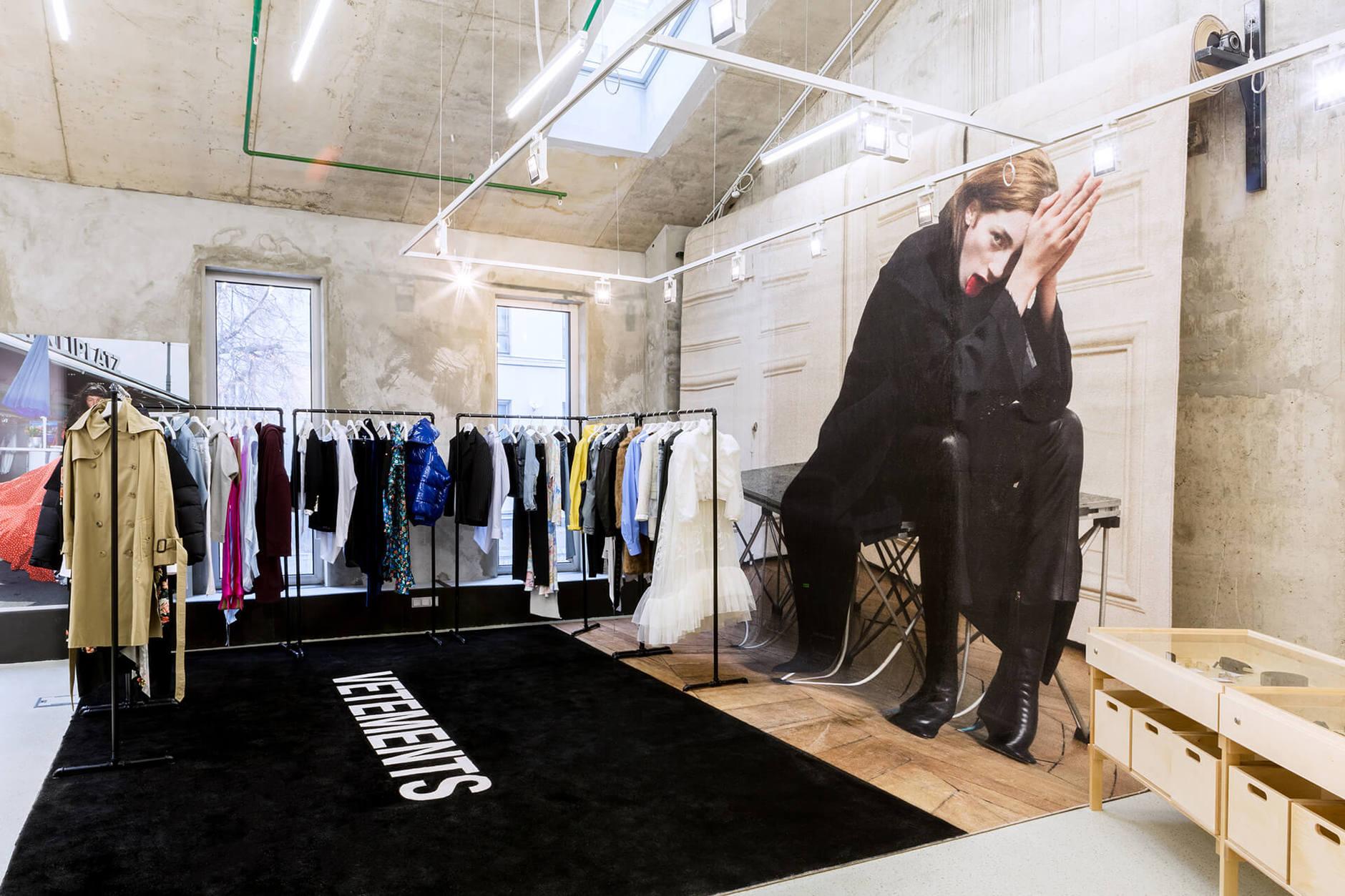Как выглядят пространства успешных fashion-брендов (галерея 1, фото 0)