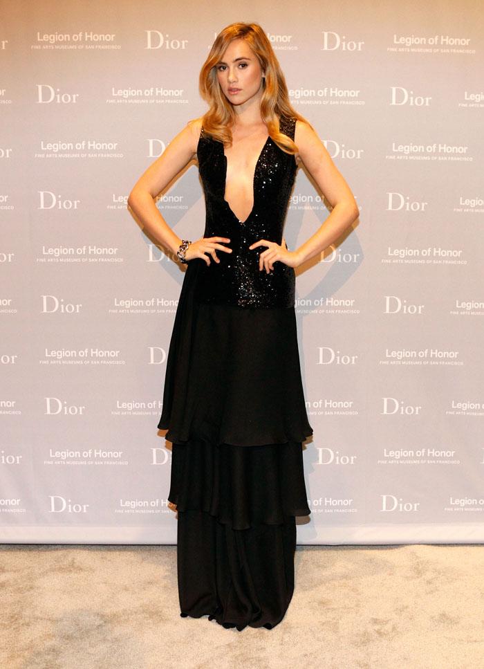 Сьюки Уотерхаус в Christian Dior