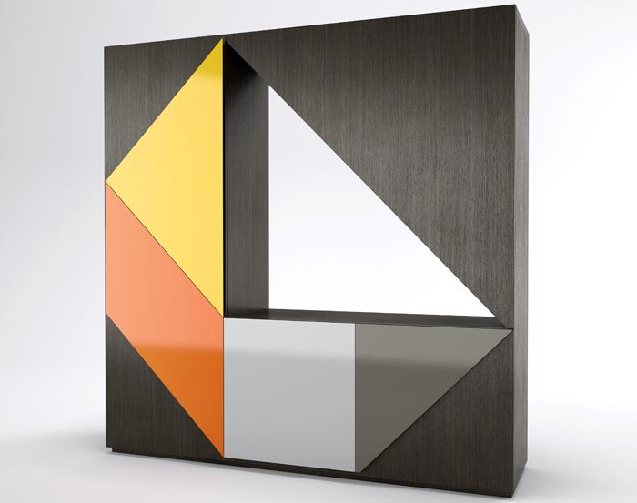 Шкаф Arlequin-2, Emmemobili, салоны «Трио», Catalog Project