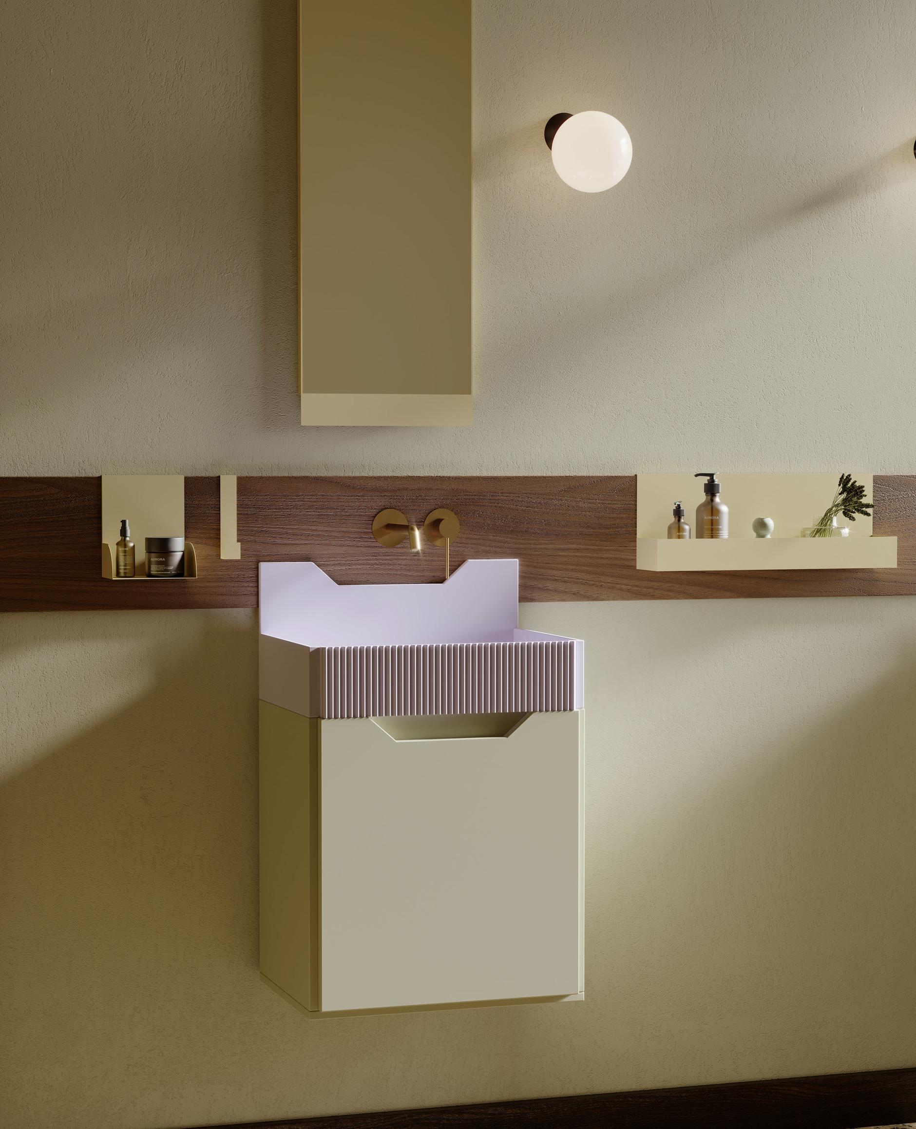 Ванная комната в стиле Роя Лихтенштейна от Ex.t (галерея 12, фото 1)