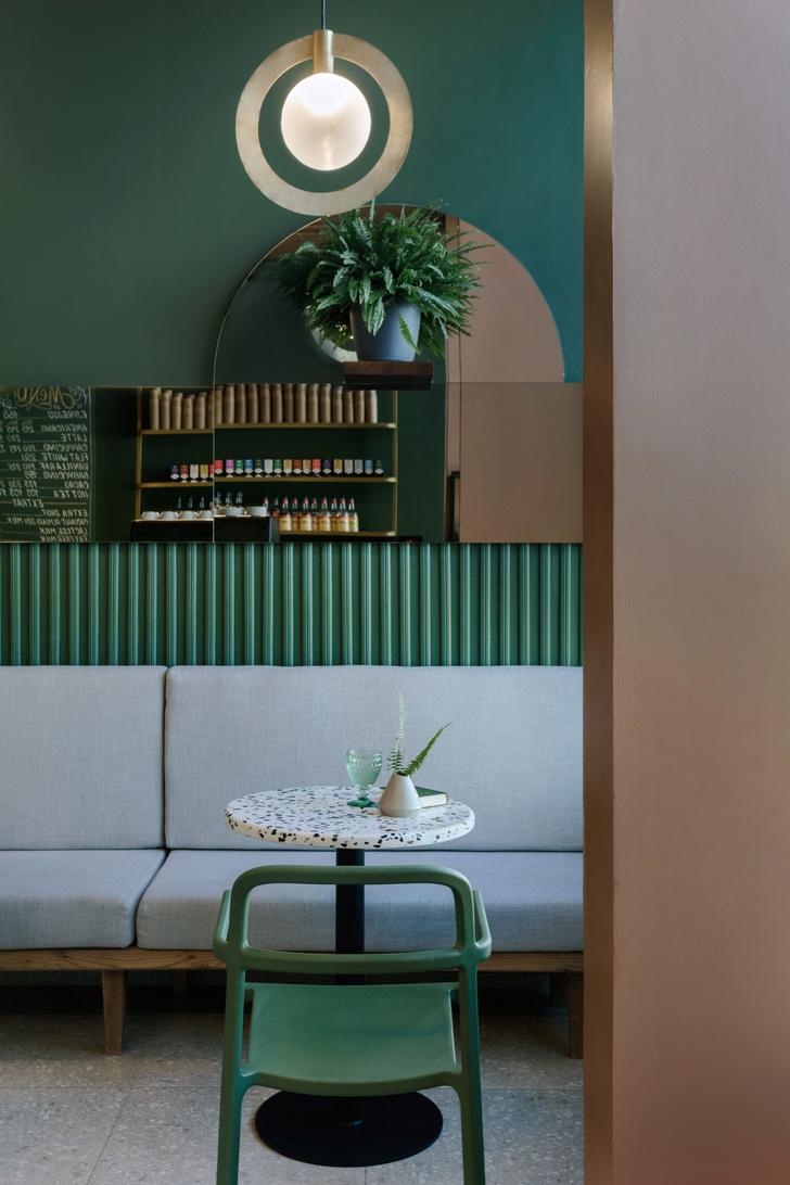 Зеленый свет: кофейня на Воробьевых горах (фото 0)