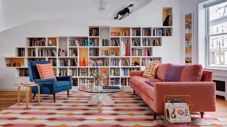 «Дом для любителей кошек и книг» в Бруклине (фото 0)