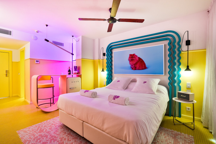 Американский модернизм и группа «Мемфис» в отеле на Ибице (фото 13)