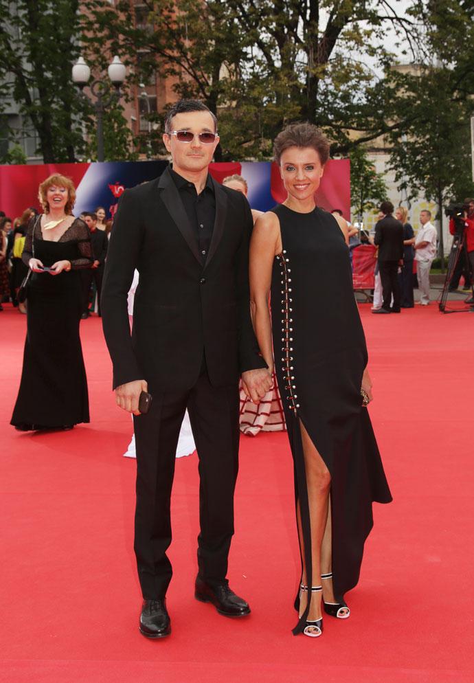 Егор Бероев и Ксения Алферова