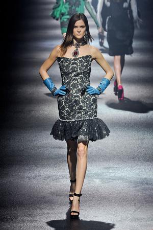 Показы мод Lanvin Осень-зима 2012-2013 | Подиум на ELLE - Подиум - фото 1435