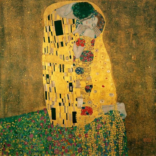 Любовное настроение: 24 культовые скульптуры, картины и фотографии поцелуев (фото 8)