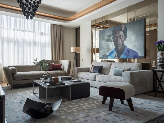 Квартира 100 м²: проект Александра Кривицкого (фото 0)