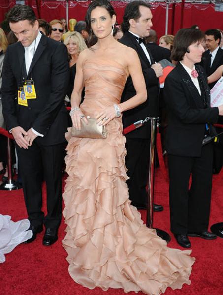 Деми Мур в Atelier Versace