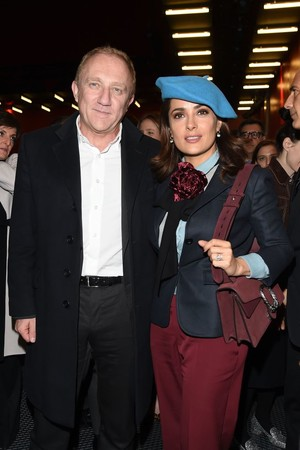 Франсуа-Анри Пино и Сальма Хайек