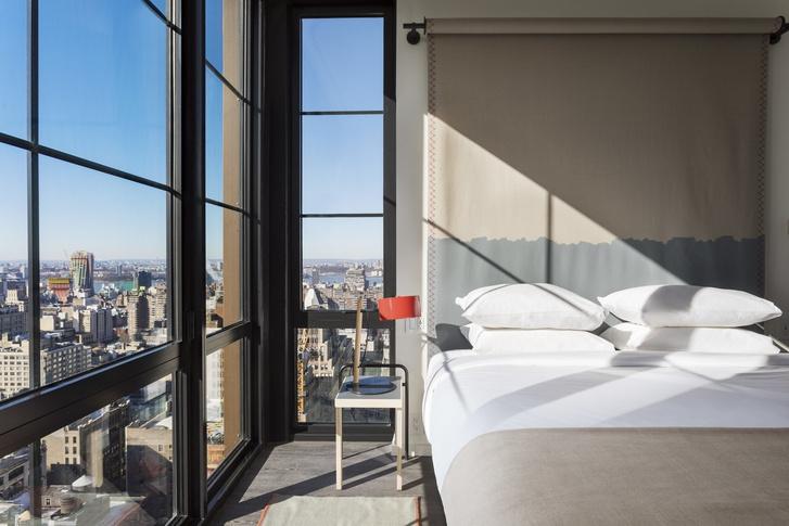 Дизайнерский отель с микро-номерами в Нью-Йорке (фото 25)