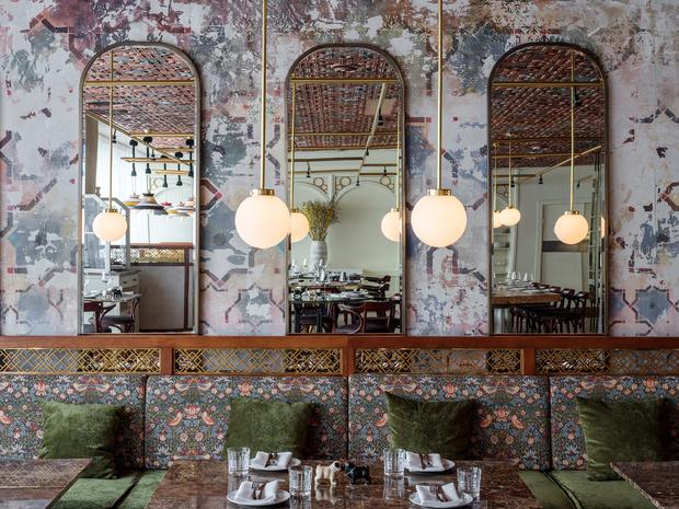 Ресторан Buro в ЦУМе: проект NB Studio (фото 0)