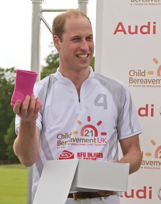 Принц Уильям получил подарок для принцессы Шарлотты