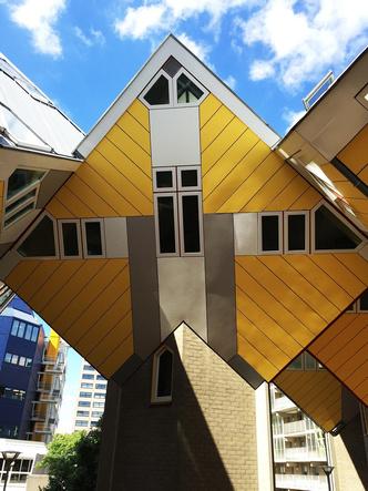 Кубические дома Пита Блома фото [2]