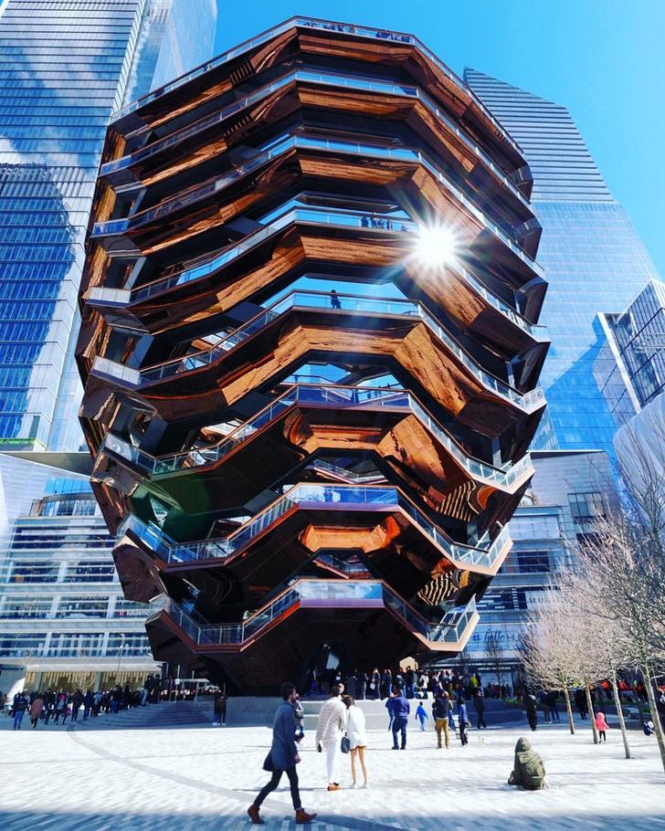 В Нью-Йорке открылась «эшеровская» башня Томаса Хизервика (фото 6)
