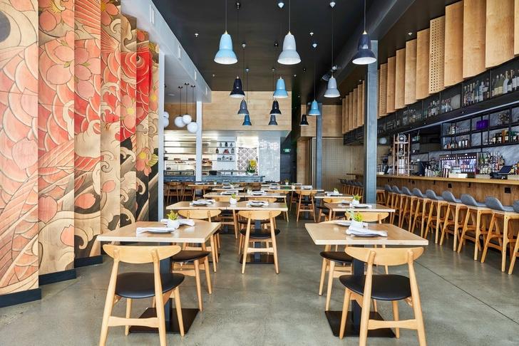 Суши, саке и японские татуировки: ресторан Sake Dojo в Лос-Анджелесе (фото 0)