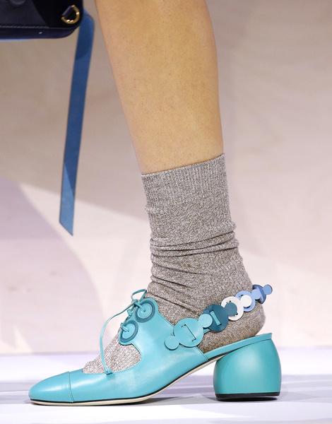 Итоги Недель моды: самая красивая обувь | галерея [5] фото [10]