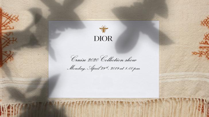 Прямая трансляция круизного шоу Dior Cruise 2020 (фото 2)