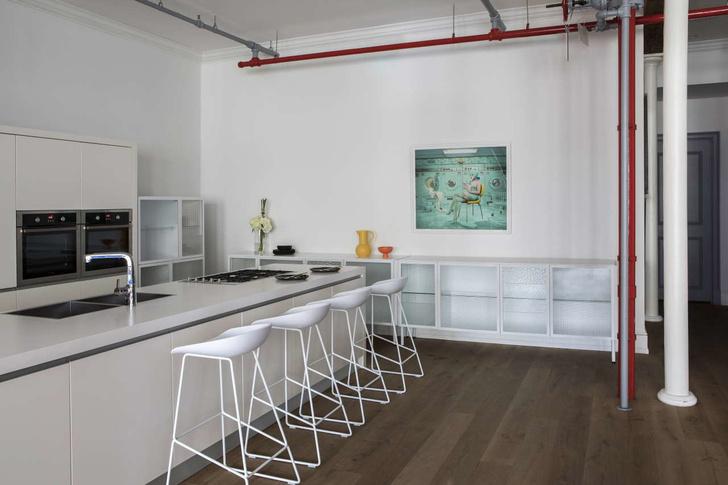 Экстраординарный дизайн: лофт в Нью-Йорке (фото 7)