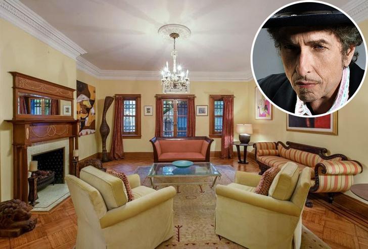 Боб Дилан продает свой таунхаус в Нью-Йорке фото [7]