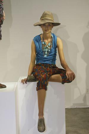 Показы мод Malandrino Весна-лето 2010 | Подиум на ELLE - Подиум - фото 3065