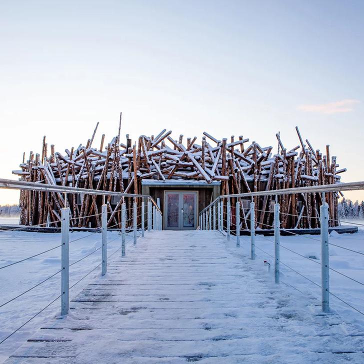 Arctic Bath: плавучий отель в Швеции (фото 2)
