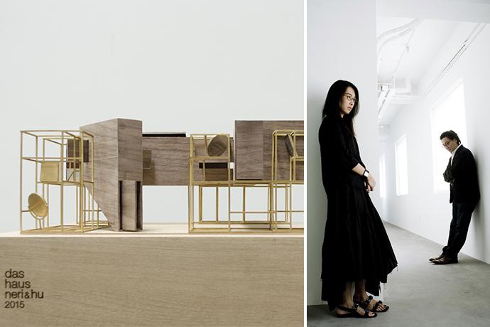 Макет инсталляции Das Haus для выставки Imm Cologne 2015. Россана Ху и Линдон Нери.