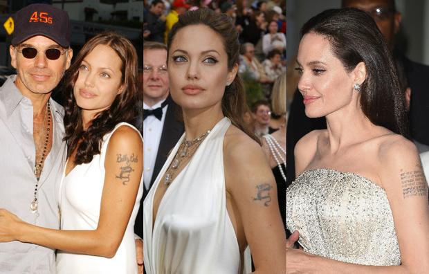 Татуировки Анджелины Джоли фото