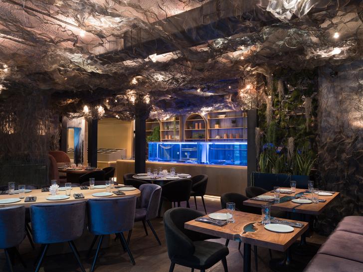 Ресторан с морепродуктами Humans на Патриарших (фото 5)
