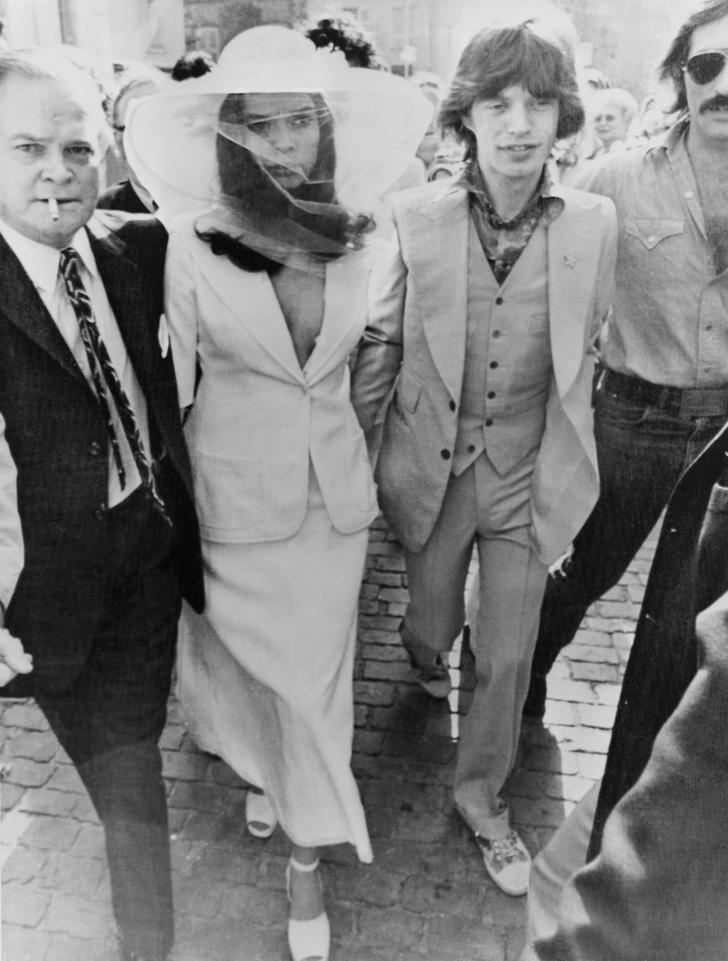 Один день в истории: свадьба Мика и Бьянки Джаггер (фото 1)