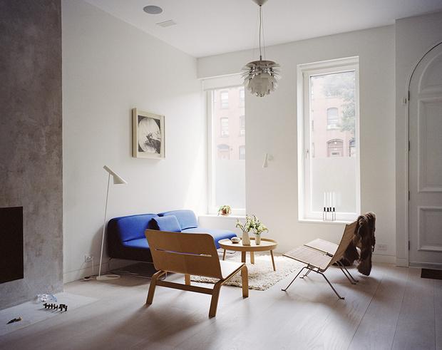 Типичный интерьер в датском стиле