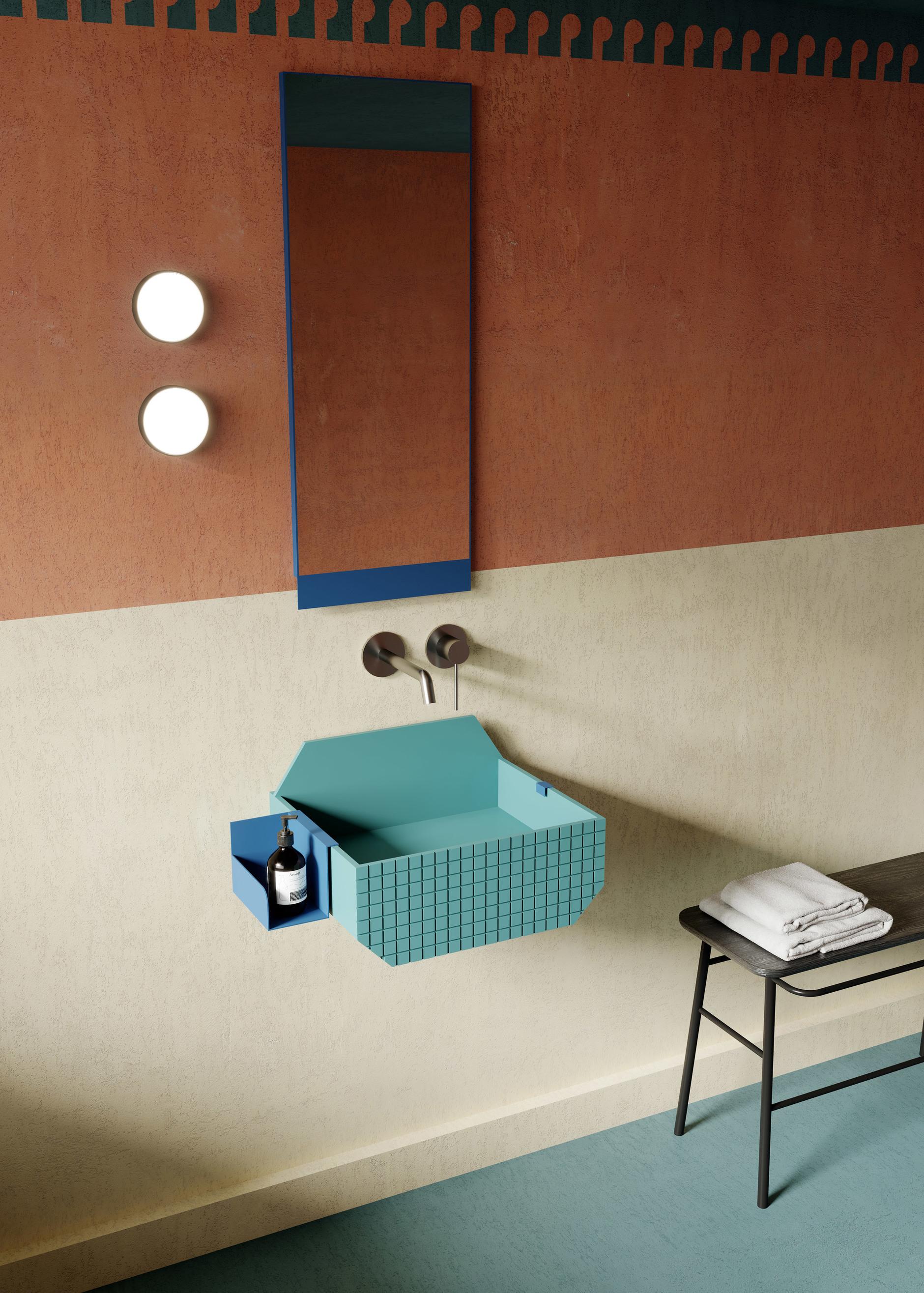 Ванная комната в стиле Роя Лихтенштейна от Ex.t (галерея 12, фото 0)