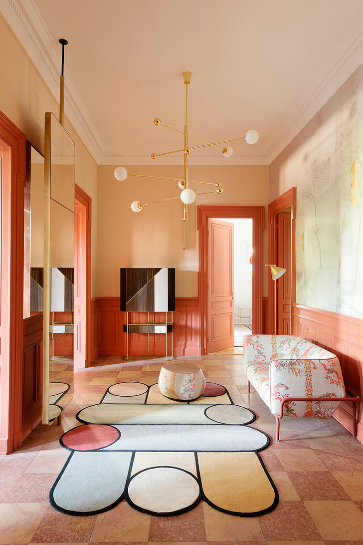 Квартира в зеленых тонах фото [6]