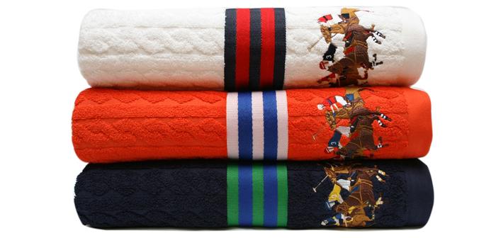 Пляжные полотенца Lable Jacquard, Ralph Lauren Home, www.ralphlaurenhome.com, салоны Lege Alto