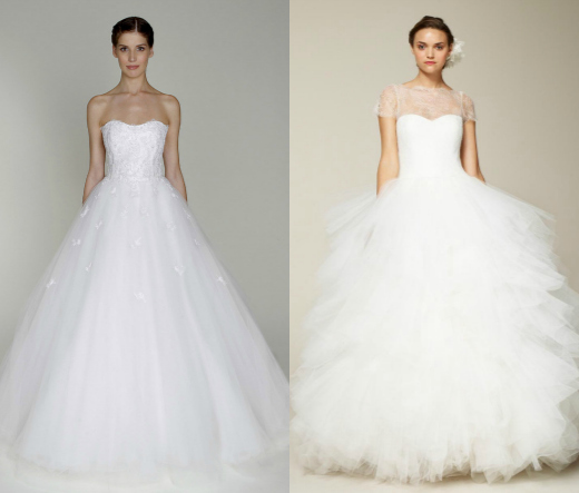Свадебный платье бальный