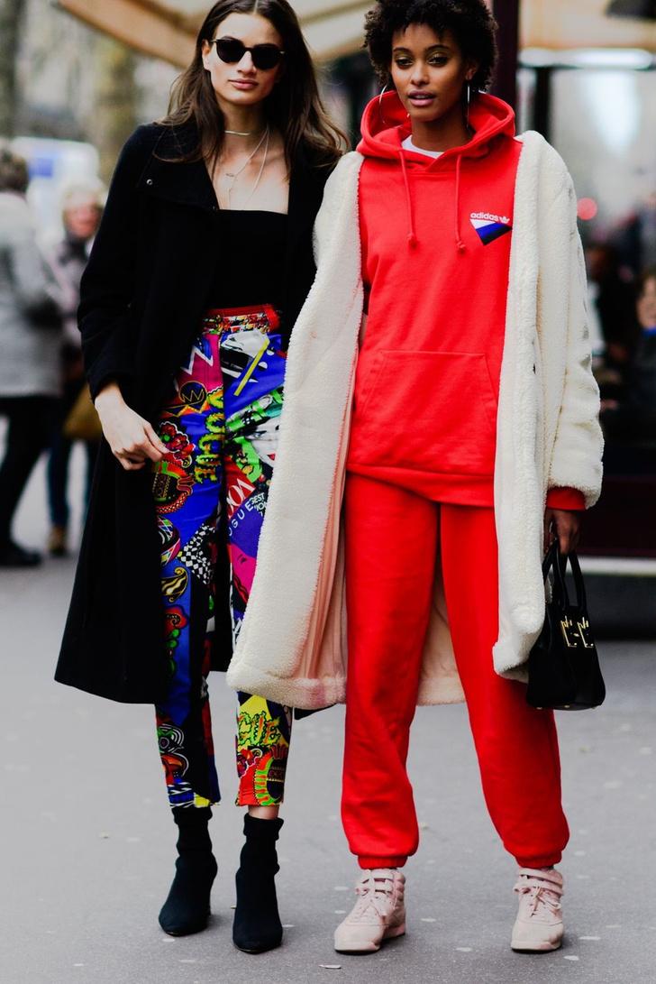 Самые модные люди на улицах Парижа (фото 17)