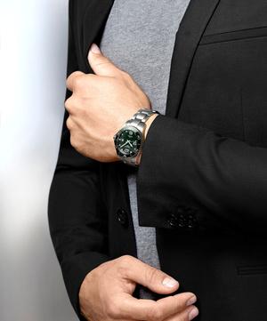 Крупным планом: часы Longines в зеленых оттенках (фото 1.2)