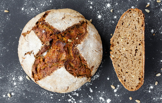 Домашний хлеб на живой закваске