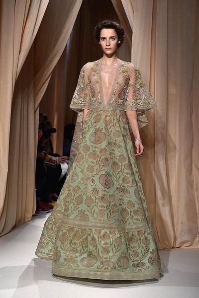 Показ Valentino Haute Couture   галерея [1] фото [7]